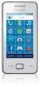 Samsung GT S5260 Téléphone portable GPRS/EDGE Bluetooth Blanc