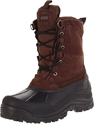 Northside Men's Everest Winter Boot,Dark Brown,8 M US