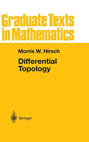 Differential Topology (Graduate Texts In Mathematics)