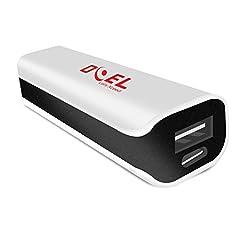 DOEL DI032 2600 mAh Portable Power Bank (White)