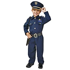Low Price Police Officer Deluxe Costume