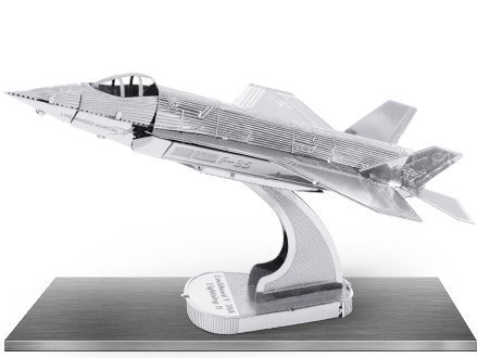 Fascinations Metal Earth 3D Metal Model Kits, F35 Lightning II