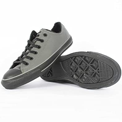 Converse Chuck Taylor Leather Low Charcoal