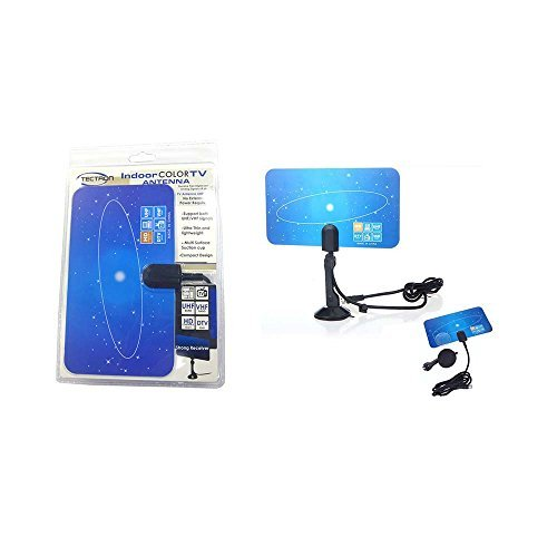 HDTV Antenna In Double Blister Clampshell - Digital and Analog TV Broadcast