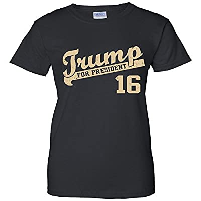 Women's T-Shirt: Vintage Team Trump 16
