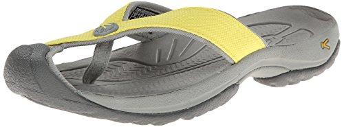 Keen Women'S Waimea H2 Sandal,Green Sheen/Neutral Gray,10 M Us front-963352