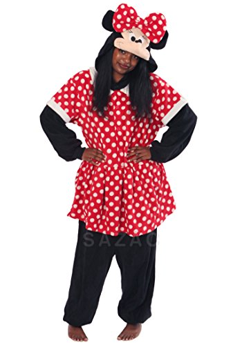 Minnie Mouse Kigurumi (Adults) front-545136