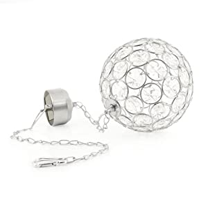The Solar Centre Aria Hanging Crystal Ball Light