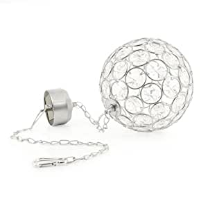SolarCentre Aria Hanging Crystal Ball Solar Light - Warm White