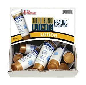 Gold Bond Medicated Hand and Body Lotion - 1 Oz (Pack of 18)
