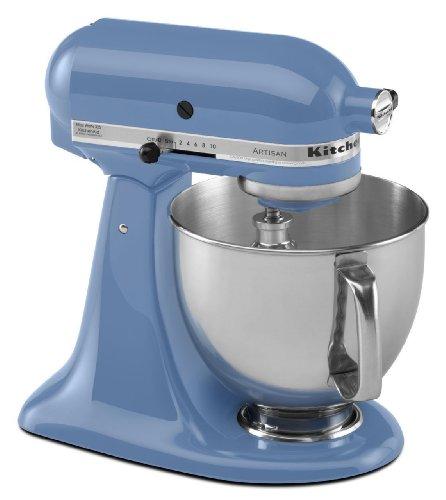 Brand New Kitchenaid Stand Mixer tilt 5-Quart ksm150psco Artisan 10-sp Cornflower Blue (5 Quart Kitchenaid compare prices)