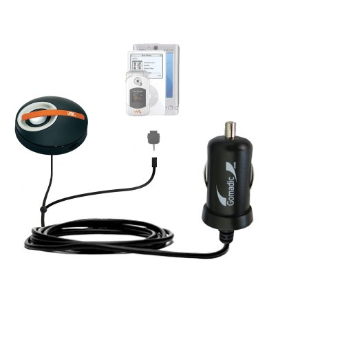 Gomadic Dual Dc Vehicle Auto Mini Charger Designed For The Jbl On Tour Micro - Uses Gomadic Tipexchange To Charge Multiple Devices In Your Car