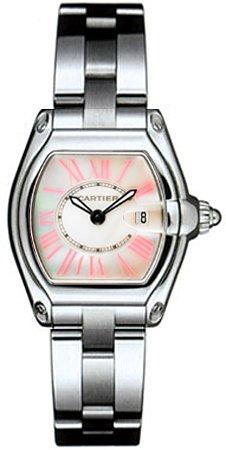 Cartier Women's W6206006 Roadster Small Steel Mother-Of-Pearl Watch