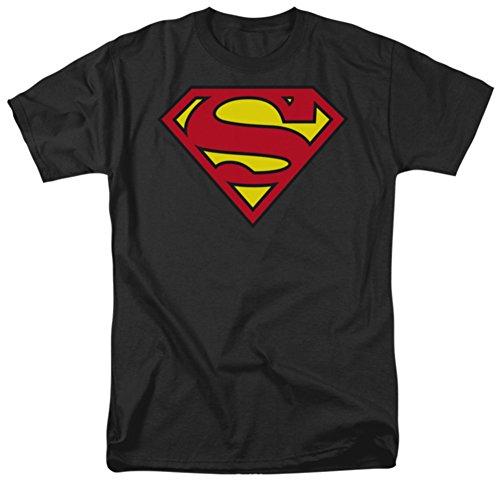 Superman-Classic Logo T-Shirt Size M (Superman T Shirt Emblem compare prices)