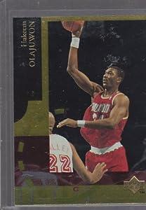 1994 95 Upper Deck SE Basketball - Electric Court - Hakeem Olajuwon #SE33