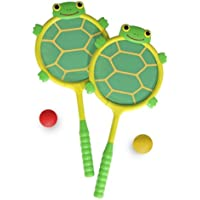 Tootle Turtle Racquet And Ball Set: Sunny Patch Outdoor Play Series