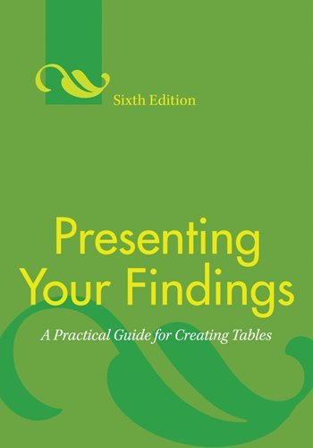 Presenting Your Findings: A Practical Guide for Creating...