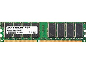 512MB STICK For ABS Conquest Series Server 1800 (Non-ECC) Conquest Server T1 (Non-ECC). DIMM DDR NON-ECC PC2100 266MHz RAM Memory. Genuine A-Tech Brand.