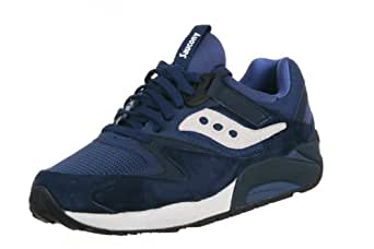 Saucony Grid 9000 Men's Sneakers In Blue 70117-6 (8)