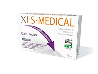 Xls medical bloqueur de glucides boite de 60 comprimés - réduit l'absorption des glucides