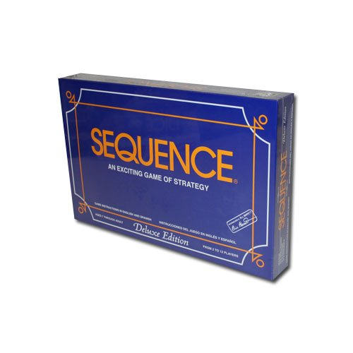 Deluxe Sequence Board Game - Includes Bonus Deck of Cards! (Sequence Board Game Jumbo compare prices)