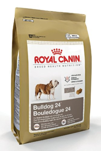 Royal Canin Dry Dog Food, Medium Bulldog 24 Formula, 30-Pound Bag