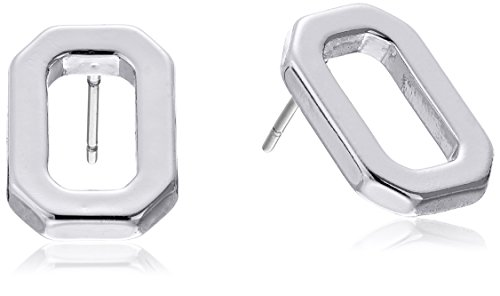 t-tahari-silver-polished-open-rectangle-stud-earrings
