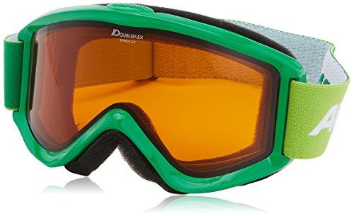 Alpina Smash 2.0 Doubleflex Skibrille (Farbe: 172 grün, Scheibe: DOUBLEFLEX)