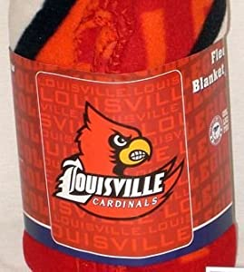 Buy Louisville Cardinals Fleece Blanket Throw by Vista Wholeasle