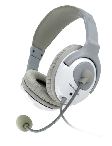 Universal Pc/Stereo Gaming Headset - Yapster Tm-Yw100A - White