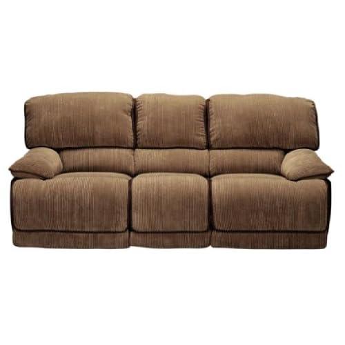 Amazon Com Laguna Camel Dual Reclining Sofa