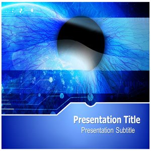 Ophthalmology PowerPoint Template - Ophthalmology PowerPoint Templates Slides