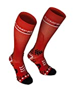 Compressport Calcetines Full V2 (Rojo)