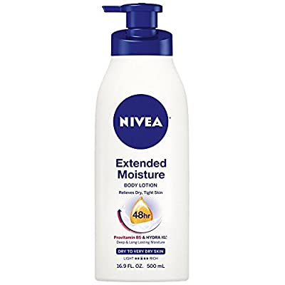 Nivea Extended Moisture Body Lotion for Dry to Very Dry Skin
