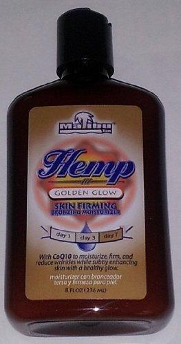 Malibu Hemp Golden Glow Skin Firming Bronzing Moisturizer 8oz