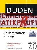 Software - DUDEN Die Rechtschreibpr�fung f�r MS Office und Works, Korrektor 7.0