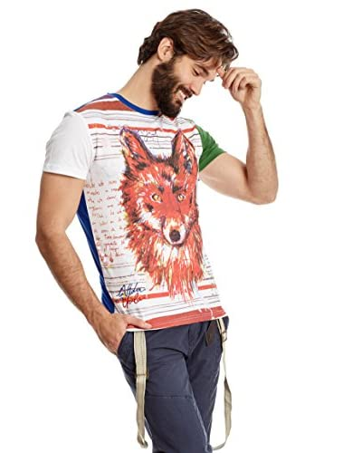 Desigual T-Shirt Manica Corta [Bianco]