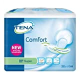 Tena Comfort Super Pads - Pack of 36