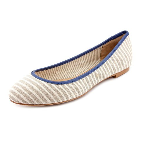 Splendid Women'S Nantucket Synthetic Ballet Flat,Natural,8.5 M Us front-1012497