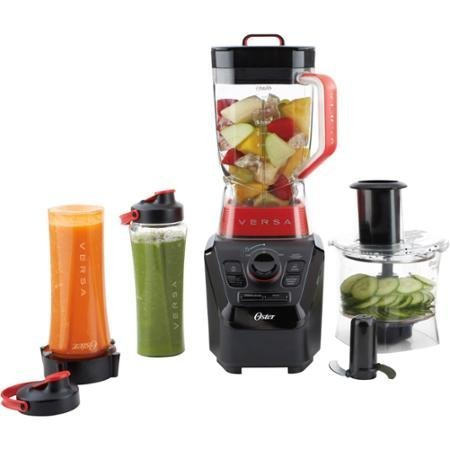 Oster Versa Performance Blender with Food Processor and Blend N' Go Accessories, BLSTVB-103-000 (Oster Versa 1100 Blender compare prices)
