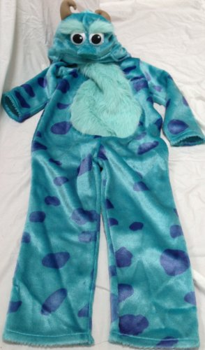 Disney Pixar Monster Inc Sully Sulley Kids Size Age 2-3 Costume