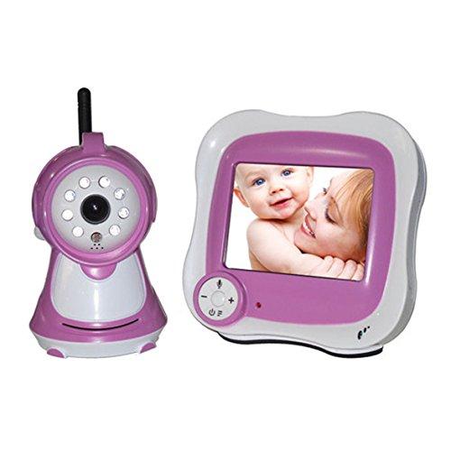 "Baby Monitor Tft Night 2.4G 3.5"" Wireless Digital Video Talk Baby Monitor Camera ,Baby Care Safety Health Bbm04"
