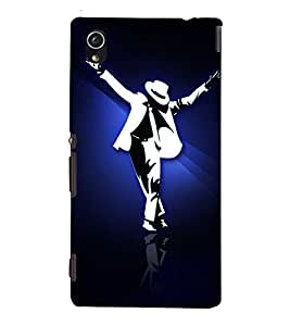 EPICCASE MJ the legend Mobile Back Case Cover For Sony Xperia M4 Aqua Dual (Designer Case)