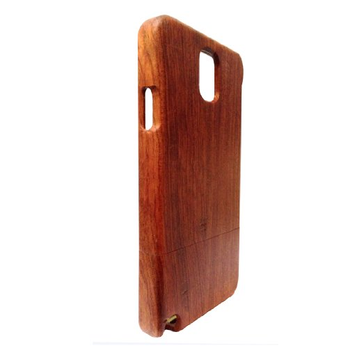 Natural Handcrafted Hua Li Wood Wooden Case Cover Shell Skin For Samsung Galaxy Note Iii Note3 N9000 N9002 N9005 N9009