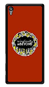 """Humor Gang To Infinity And Beyond Quote Printed Designer Mobile Back Cover For """"Sony Xperia Z5"""" (3D, Glossy, Premium Quality Snap On Case)"""