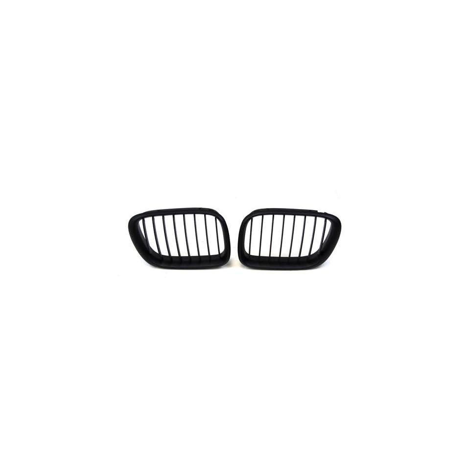 92 96 BMW 3 Series E36 Coupe Sedan Matt Black Hamann M3 Style Grille