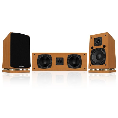 Fluance Classic Elite Series Center Channel & Surround Sound Speakers