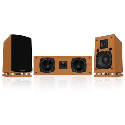 Fluance Classic Elite Series Center Channel & Surround Sound Speakers