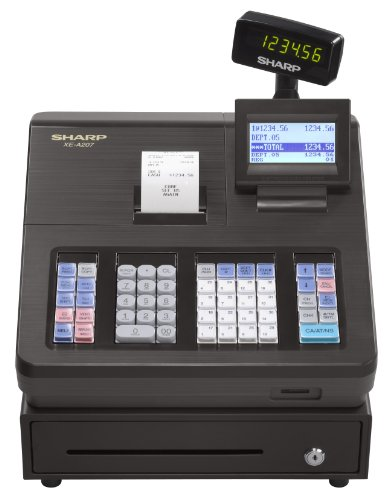 41csanCa5aL Sharp XEA207 Menu Based Control System Cash Register