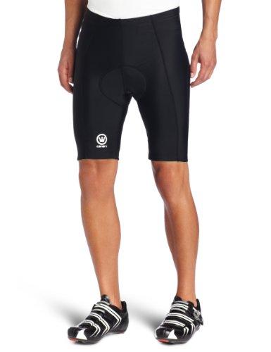 Buy Low Price Canari Cyclewear Men's Velo Gel Padded Cycling Short (1040BLACK)